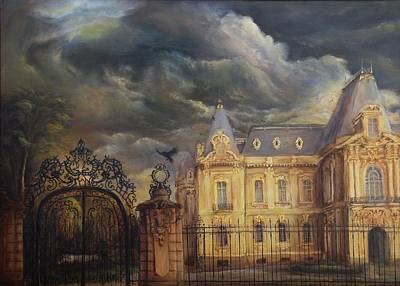 Tablou Painting - Art Museum Of Craiova by Dan Scurtu