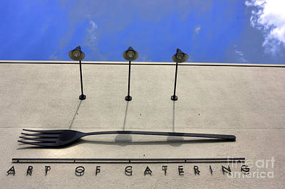 Art Of Catering Print by David Bearden