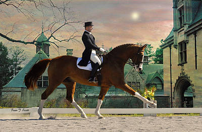 Dressage Photograph - Art Of Dressage by Fran J Scott