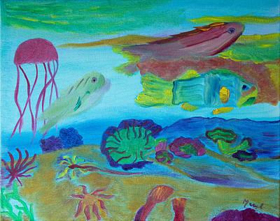 Ocean Exploration Original by Meryl Goudey