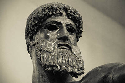 Artemision Zeus Print by David Waldo
