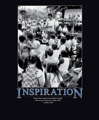 Arthur Ashe Inspiration  Print by Retro Images Archive