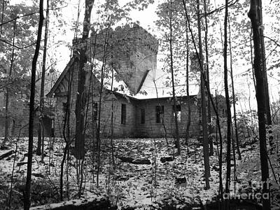 Black And White Photograph - Artic Castle by Michael Krek