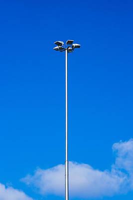 Streetlight Photograph - Artificial Lighting by Alexander Senin