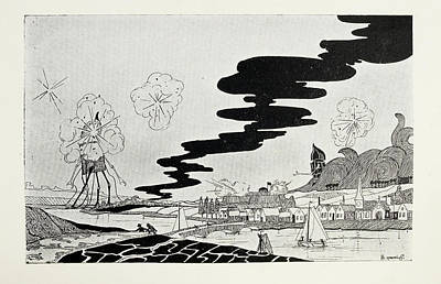 Artillery Fire Print by British Library