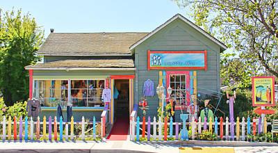 Cambria Photograph - Artist Gallery In Cambria California  7142 by Jack Schultz