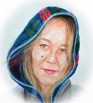 Artist Jadranka Bezanovic Sovilj  Print by Jim Fitzpatrick