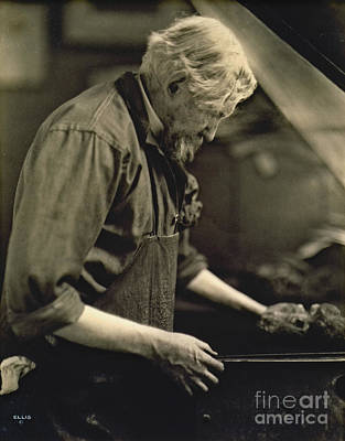 Printmaking Photograph - Artist Joseph Pennell 1922 by Padre Art