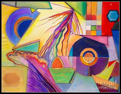 Painting - Artistic Calculations by Patricia Bunk