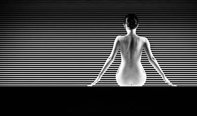 Artistic Nude Print by Dan Comaniciu