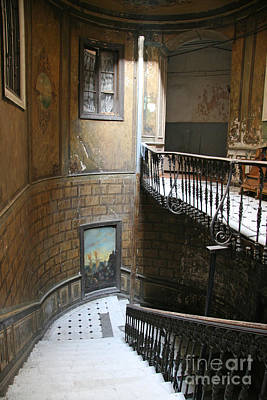 Tbilisi Photograph - Artistic Staircase In Tbilisi by Lali Kacharava
