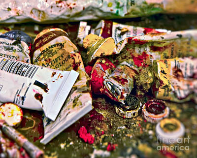 Painter Photograph - Artists' Colours by Catherine Fenner
