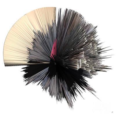 artotem iv painting as a Spherical Depth Map b Original by Paul Davenport