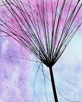Artsy Abstract Silhouette Print by Sabrina L Ryan