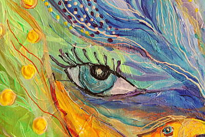 Wholesale Painting - Artwork Fragment 77 by Elena Kotliarker