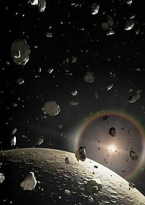 Astrophysical Photograph - Artwork Of A Kuiper Belt Object by Mark Garlick