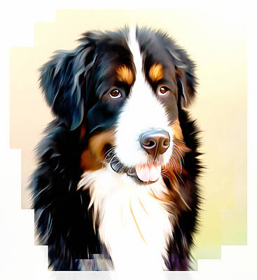 Sheepdog Mixed Media - As Good As It Gets by Georgiana Romanovna