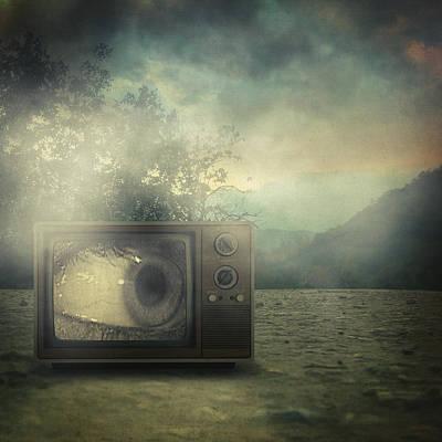 As Seen On Tv Print by Taylan Soyturk