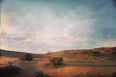 Landscapes Digital Art - As The Sand Shifts So Do I by Laurie Search