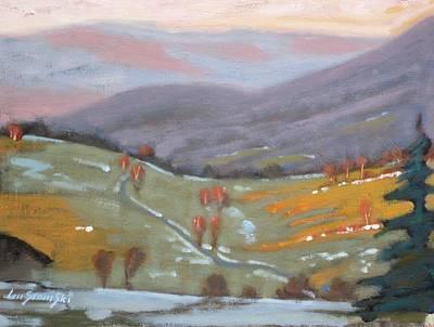 As The Sun Sets Original by Len Stomski