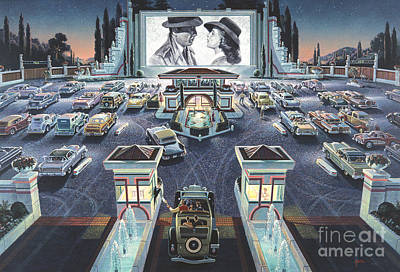 1960s Digital Art - As Time Goes By by Michael Young