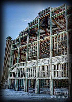 Asbury Park Casino And Carousel House Print by Lee Dos Santos