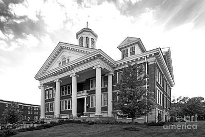 Asbury University Hager Administration Building Print by University Icons