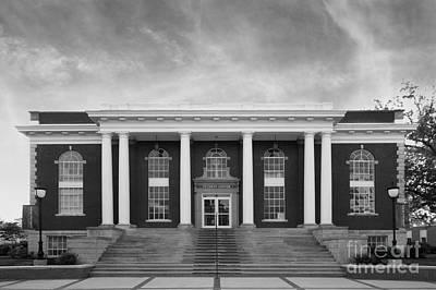 Asbury Photograph - Asbury University Morrison Hall by University Icons
