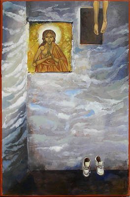Catholic For Sale Painting - Ascension by Mary jane Miller
