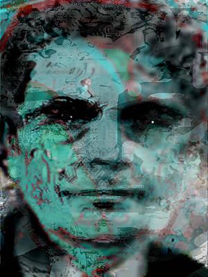Digital Art - Asfacing2d by Immo Jalass