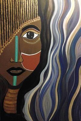Tribal Painting - Ashanti by Carla J Lawson