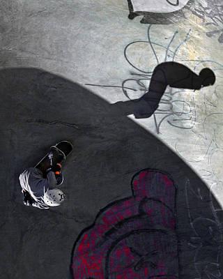 Ashbridges Bay Skate Park Print by Brian Carson