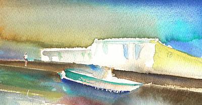 Lanzarote Painting - Ashore In Lanzarote by Miki De Goodaboom