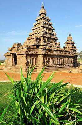 Hindu Goddess Photograph - Asia, India, Tamil Nadu, Mahabalipuram by Steve Roxbury