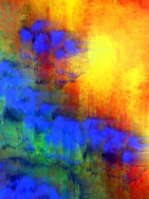 Ipad Design Digital Art - Asian Sunset by Bruce Shannahoff