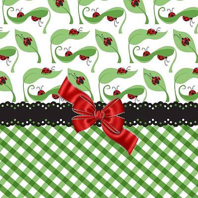 Ladybug Digital Art - Asiatic Ladybugs  by Debra  Miller