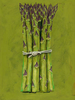 Asparagus Digital Art - Asparagus by Brian James