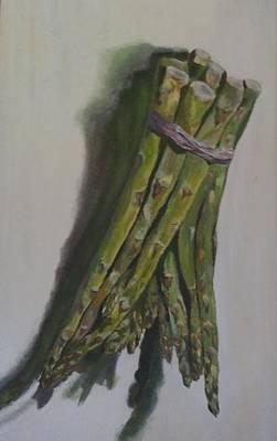 Asparagus Painting - Asparagus by Irina Stroup
