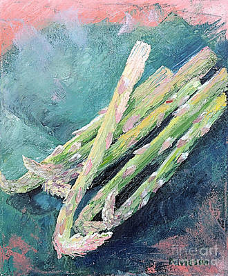 Asparagus Original by Regina Davidson