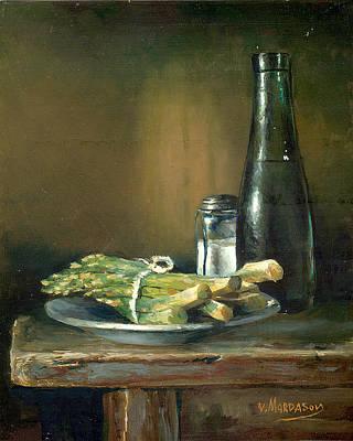 Asparagus Original by Victor Mordasov