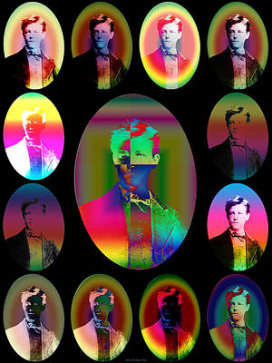 Steampunk Digital Art - Aspects Of Arthur IIi by Eric Edelman