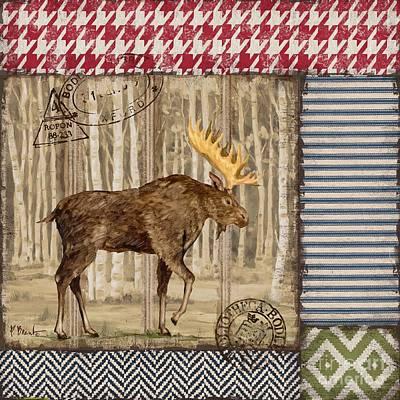 Aspen Lodge Iv Print by Paul Brent