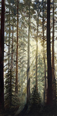 Mist Painting - Aspire by Mary Giacomini