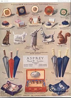 Asprey 1925 1920s Uk Asprey Gifts Print by The Advertising Archives
