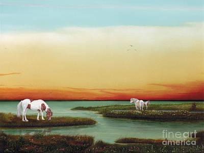 Assateague Island Sunset Original by Albert Puskaric