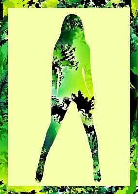 Abstract Digital Art - Assertive by Anastasiya Malakhova