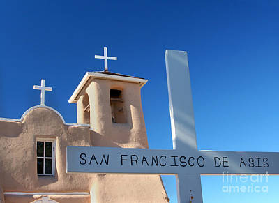 Adobe Church Photograph - Assisi Church At Easter by Heidi Hermes