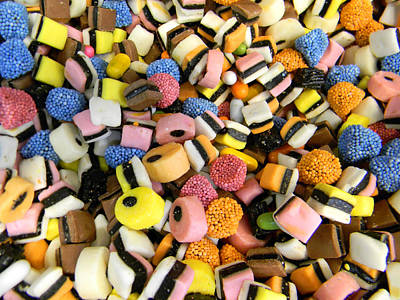 Licorice Digital Art - Assorted Licorice Candy by Jonathan Androwski