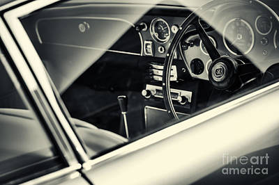 Aston Martin Db5  Print by Tim Gainey