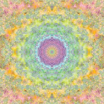 Tessellation Digital Art - Astral Field by Mark Greenberg